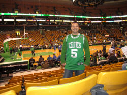 NBA Basketball Arenas Boston Celtics Home Arena TD Garden