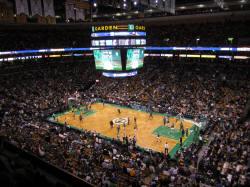NBA Basketball Arenas Boston Celtics Home Arena TD Garden