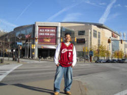 Hans Steiniger at Quicken Loans Arena