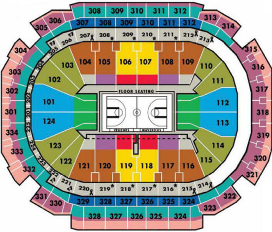 Nba basketball arenas dallas mavericks home arena american
