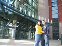 RoandBall RoadTrip at the Pepsi Center