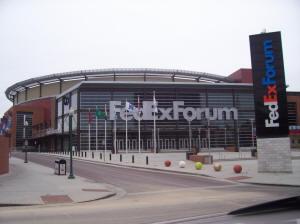 Nba Basketball Arenas Memphis Grizzlies Home Arena