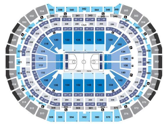 Nba Basketball Arenas Denver Nuggets Home Arena Pepsi